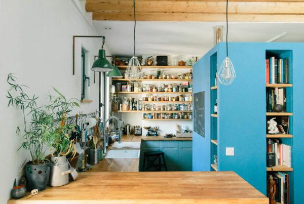 Cuisine originale et optimisation d'espace luca onesim